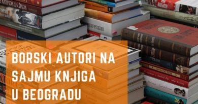 Borski autori na sajmu knjiga u Beogradu 2018