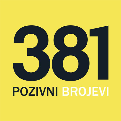Pozivni Brojevi u Srbiji